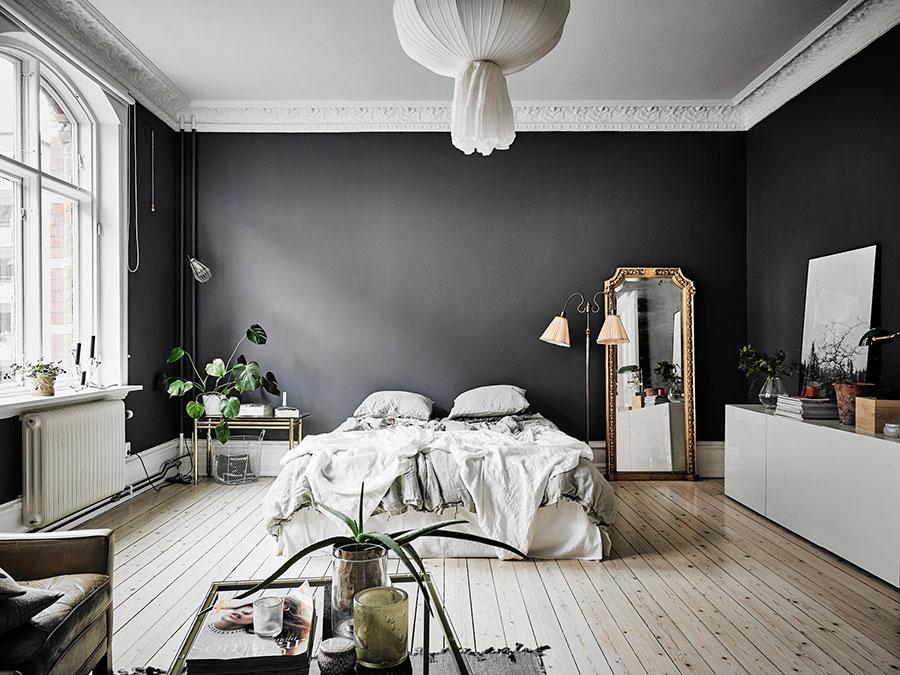 Idee per usare il nero sulle pareti 04