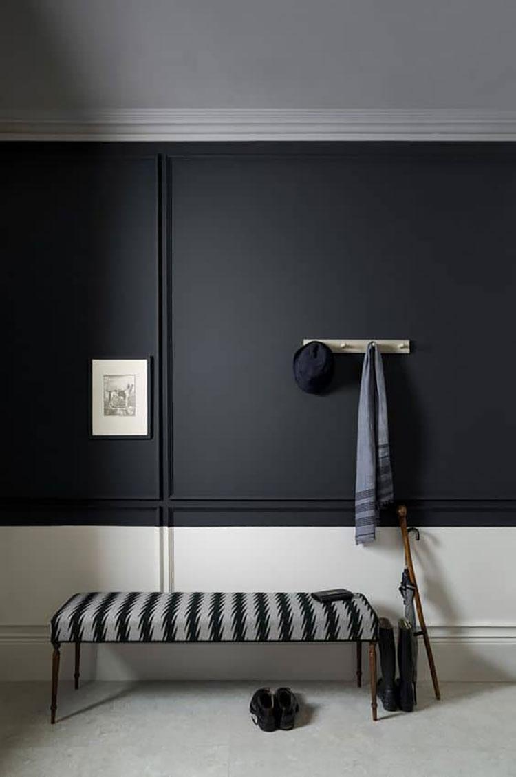 Idee per usare il nero sulle pareti 06