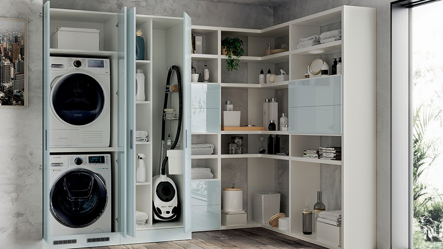 Elementi immancabili in una lavanderia n.01