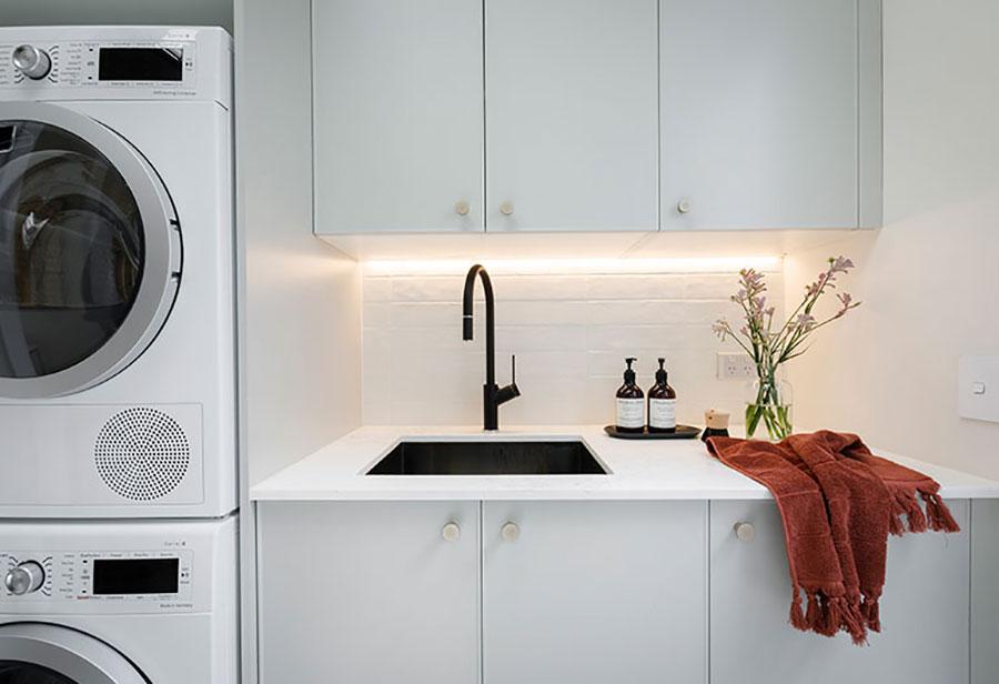 Idee per illuminare la lavanderia n.02