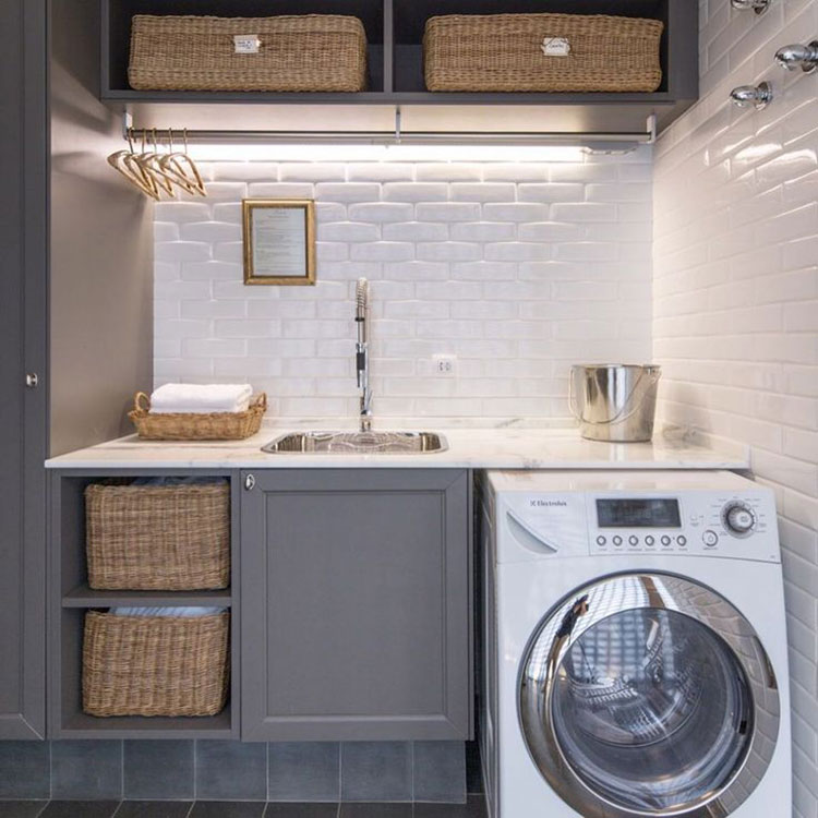 Idee per illuminare la lavanderia n.04