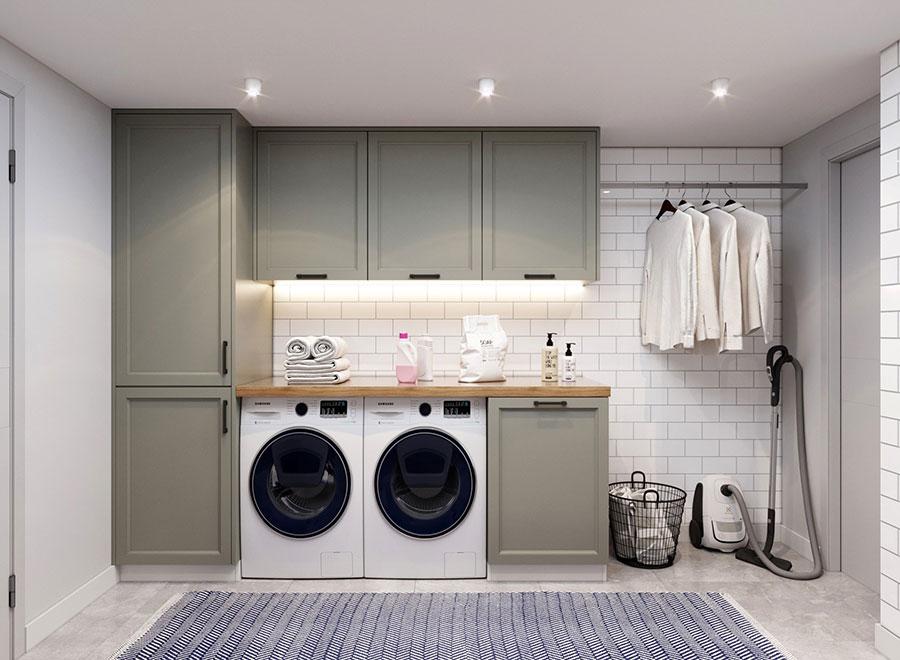 Idee per illuminare la lavanderia n.05