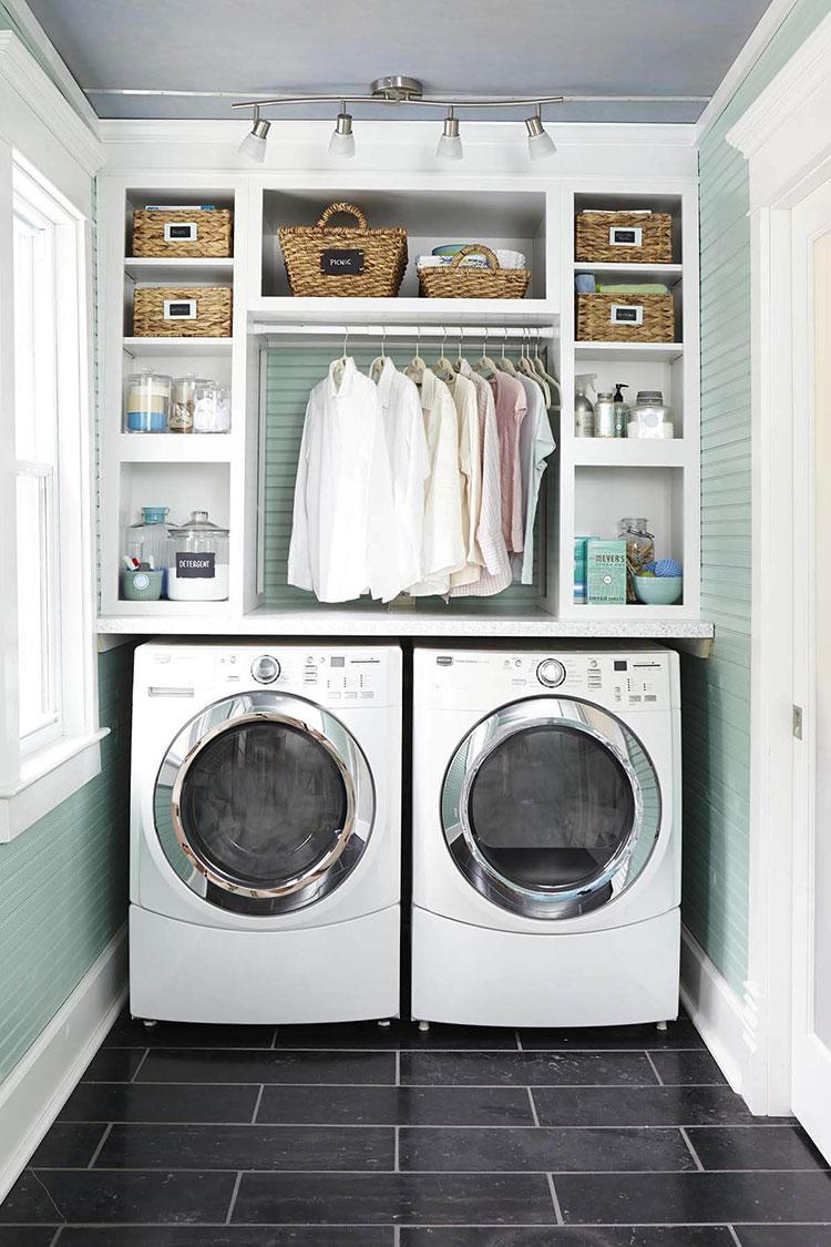 Idee per illuminare la lavanderia n.06