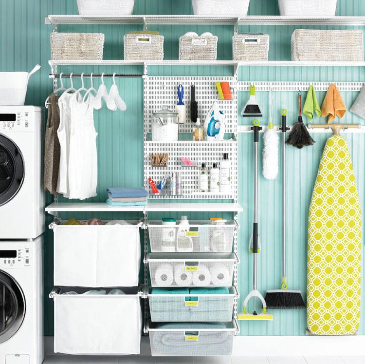 Idee per arredare lavanderia e ripostiglio n.01