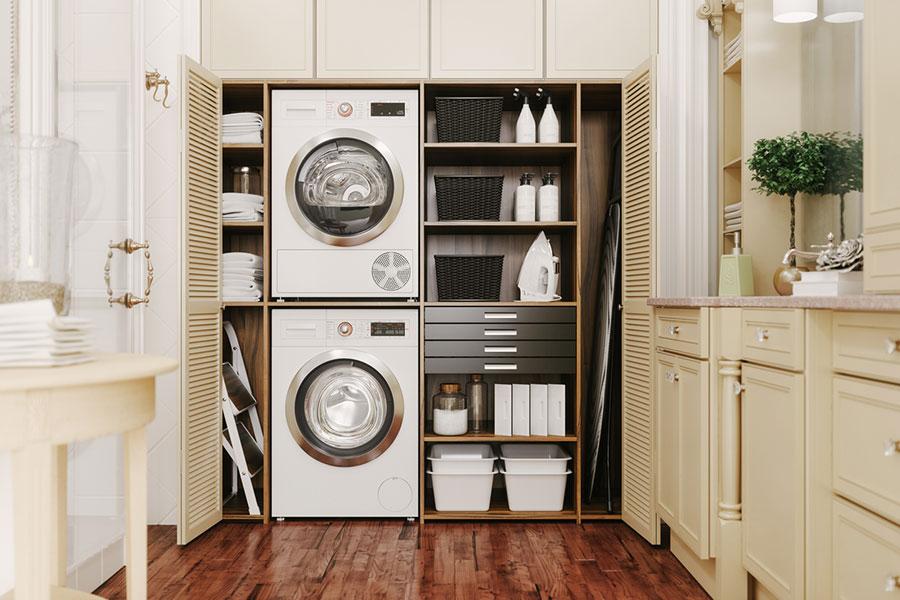 Idee per arredare lavanderia e ripostiglio n.03