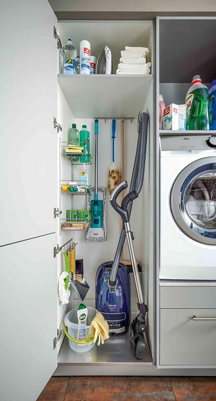 Idee per arredare lavanderia e ripostiglio n.04
