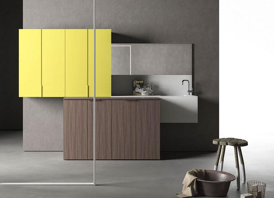 Modello di mobile per lavanderia moderna n.15