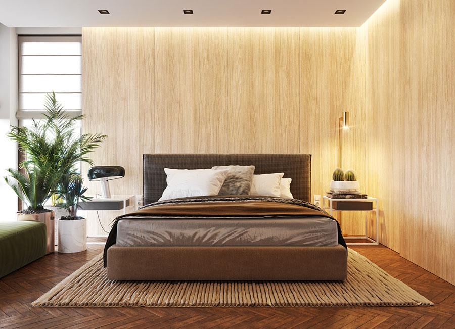 Idee per arredare la camera da letto con le piante n.01