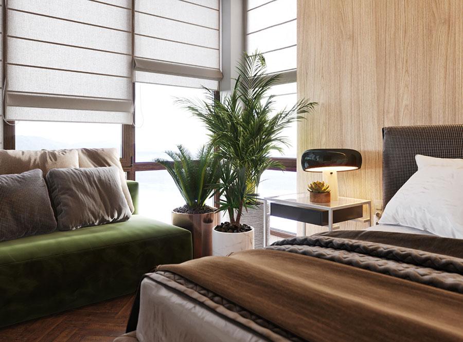 Piante in camera da letto secondo il feng shui