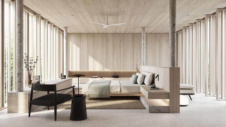 Idee camera da letto aesthetic n.14