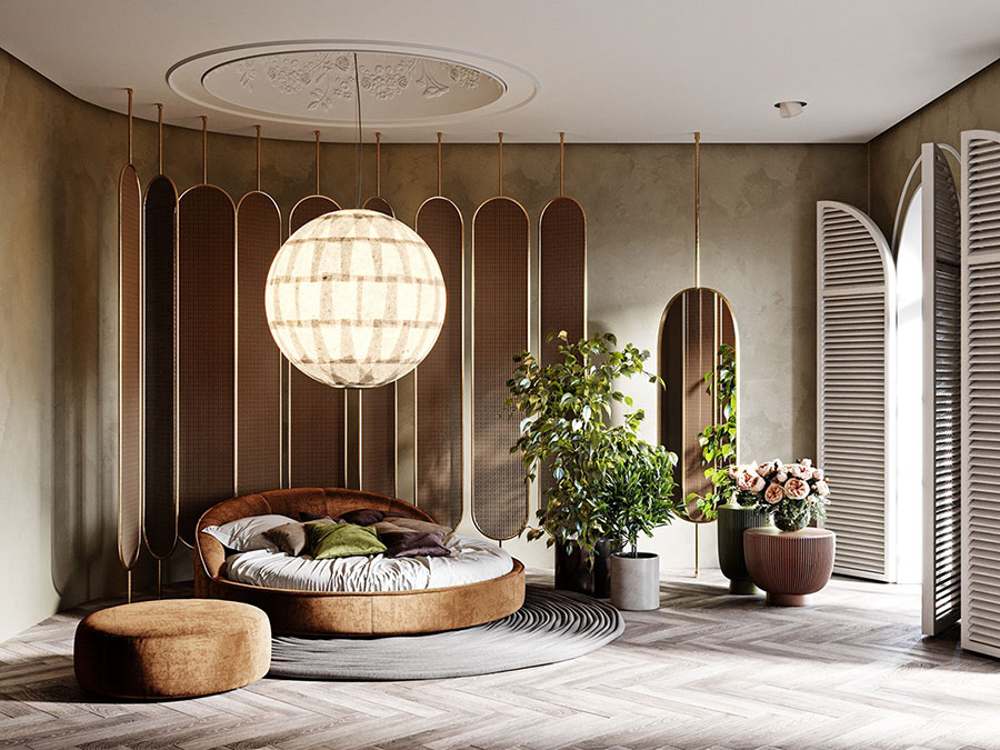 Idee camera da letto aesthetic n.25
