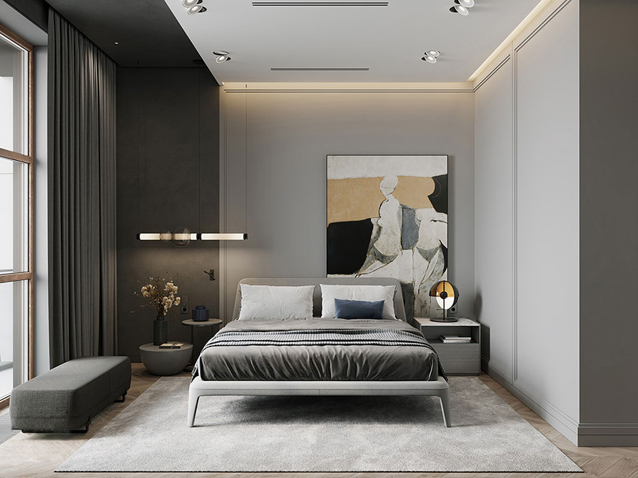 Idee camera da letto aesthetic n.31