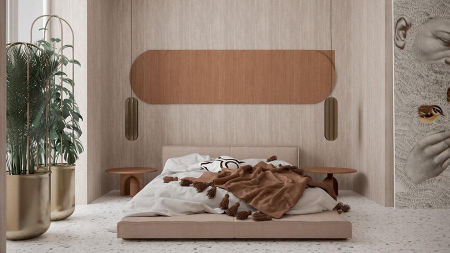 Idee camera da letto aesthetic n.36