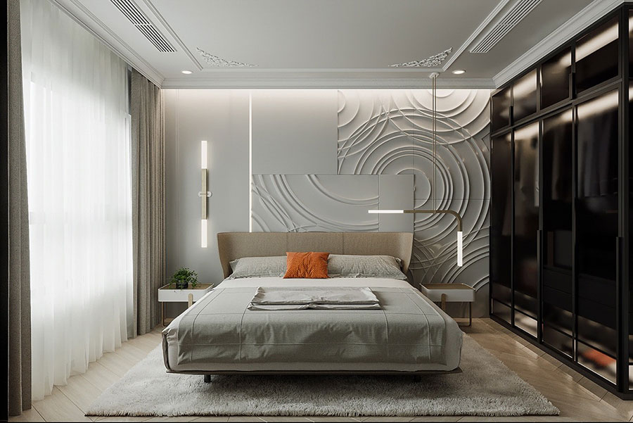 Idee camera da letto aesthetic n.40
