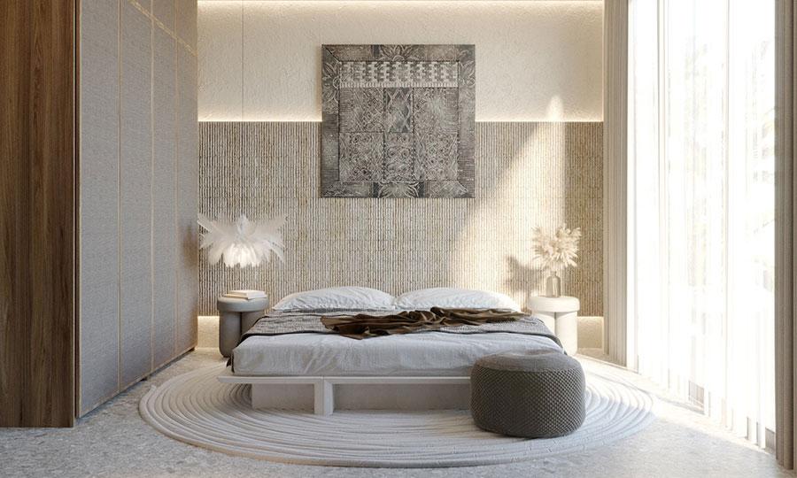 Idee camera da letto aesthetic n.43