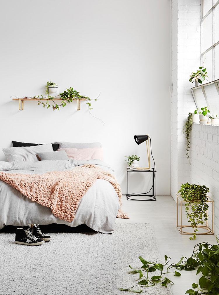 Idee camera da letto aesthetic n.45