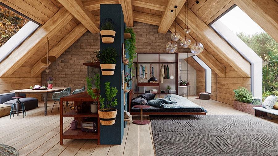 Idee camera da letto aesthetic n.49