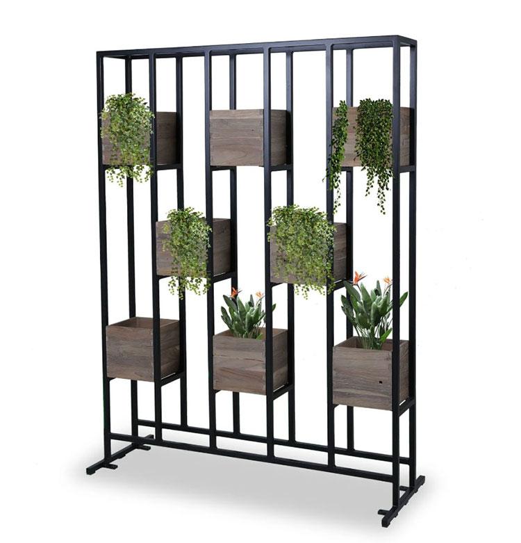 Modello di fioriera verticale di design n.02