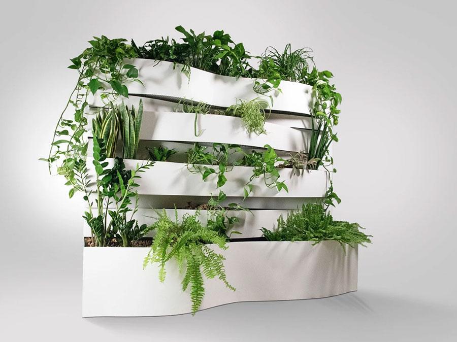 Modello di fioriera verticale di design n.05