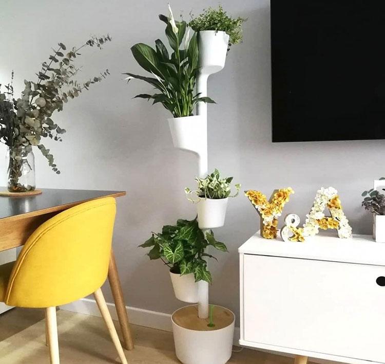 Modello di fioriera verticale di design n.09