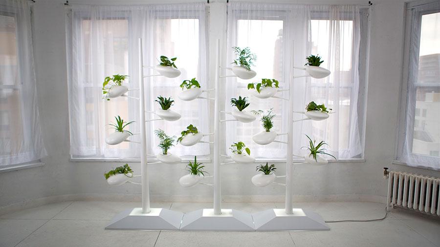 Modello di fioriera verticale di design n.10