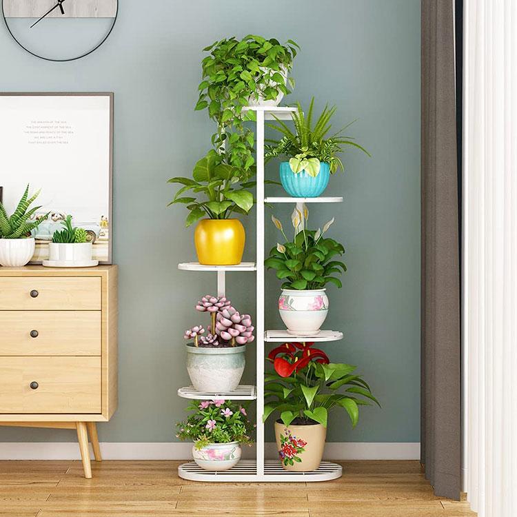 Modello di supporto per fioriere verticali n.02