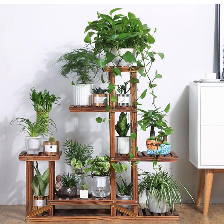 Modello di supporto per fioriere verticali n.04