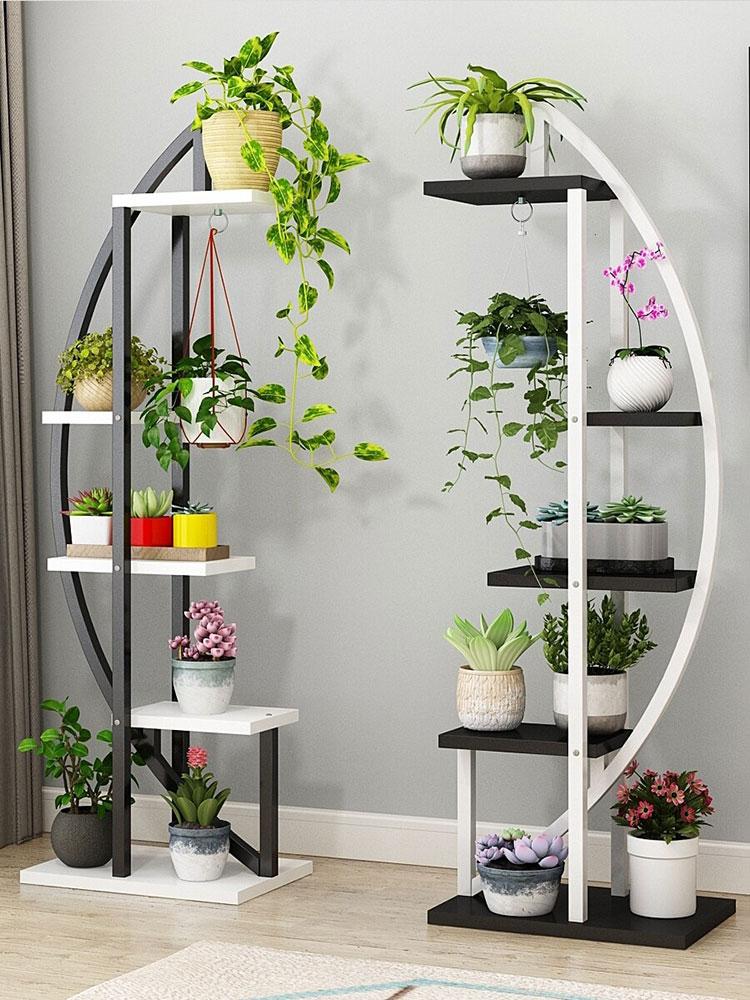 Modello di supporto per fioriere verticali n.05