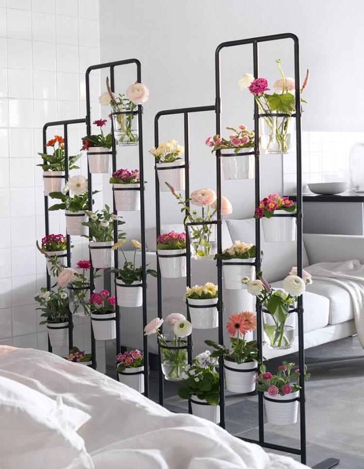 Modello di supporto per fioriere verticali n.06