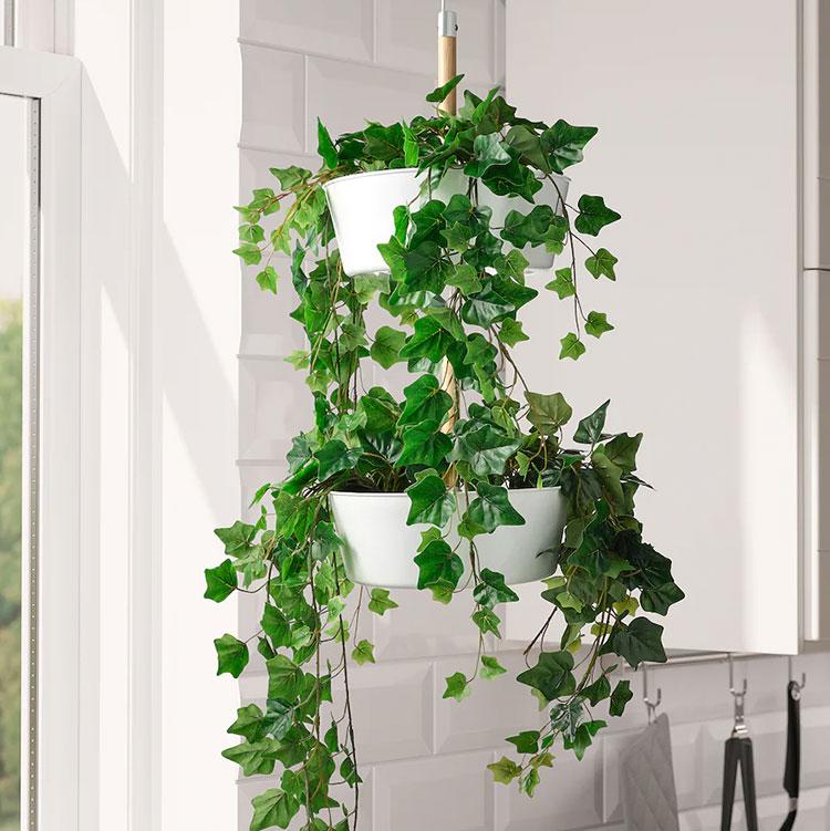 Modello di fioriera verticale Ikea n.02