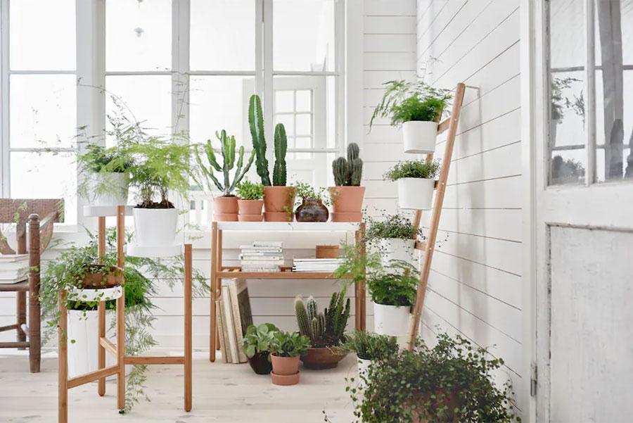 Modello di fioriera verticale Ikea n.03